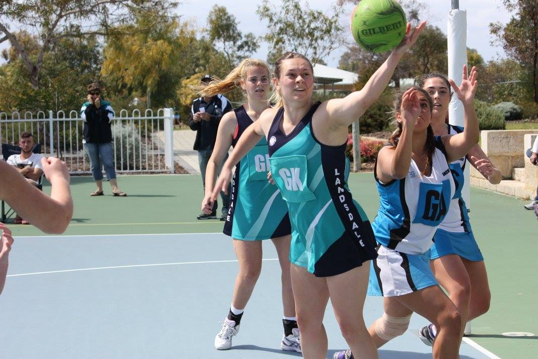Landsdale Netball Club Action24