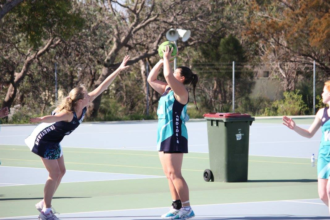 Landsdale Netball Club Action25