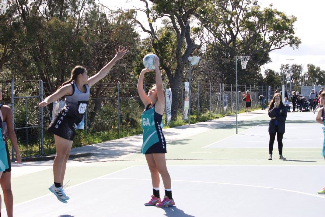 Landsdale Netball Club Action35