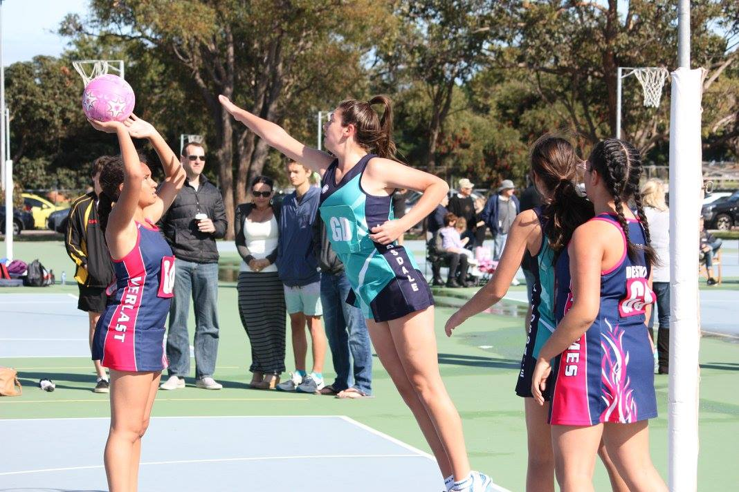 Landsdale Netball Club Action36