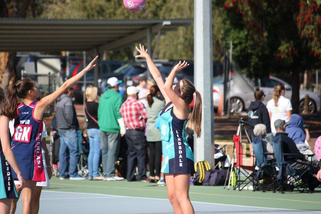 Landsdale Netball Club Action49