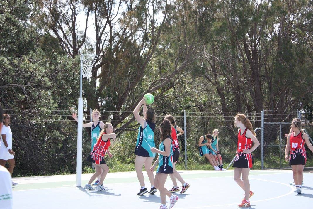Landsdale Netball Club Action5