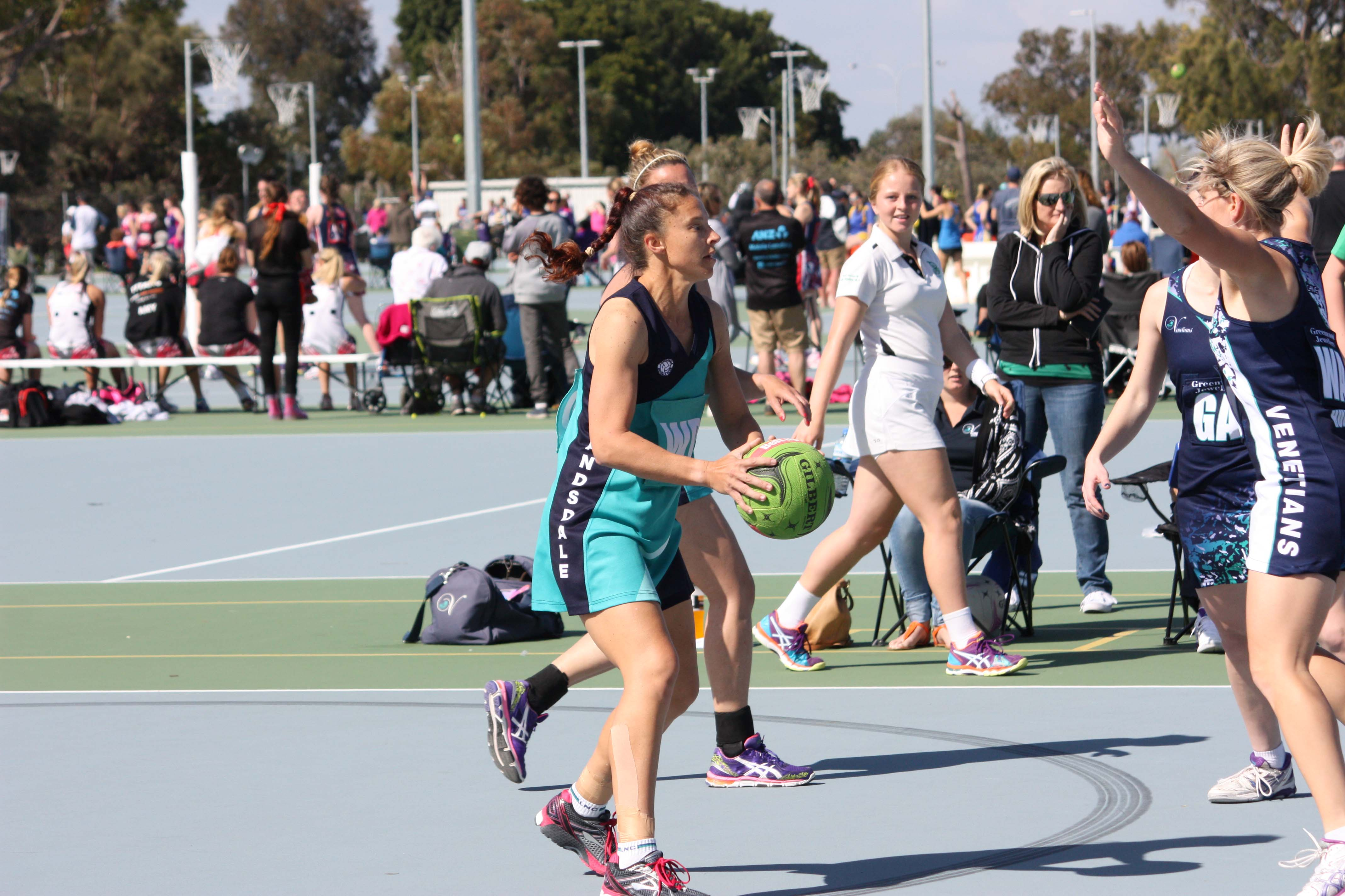 Landsdale Netball Club Open Players1