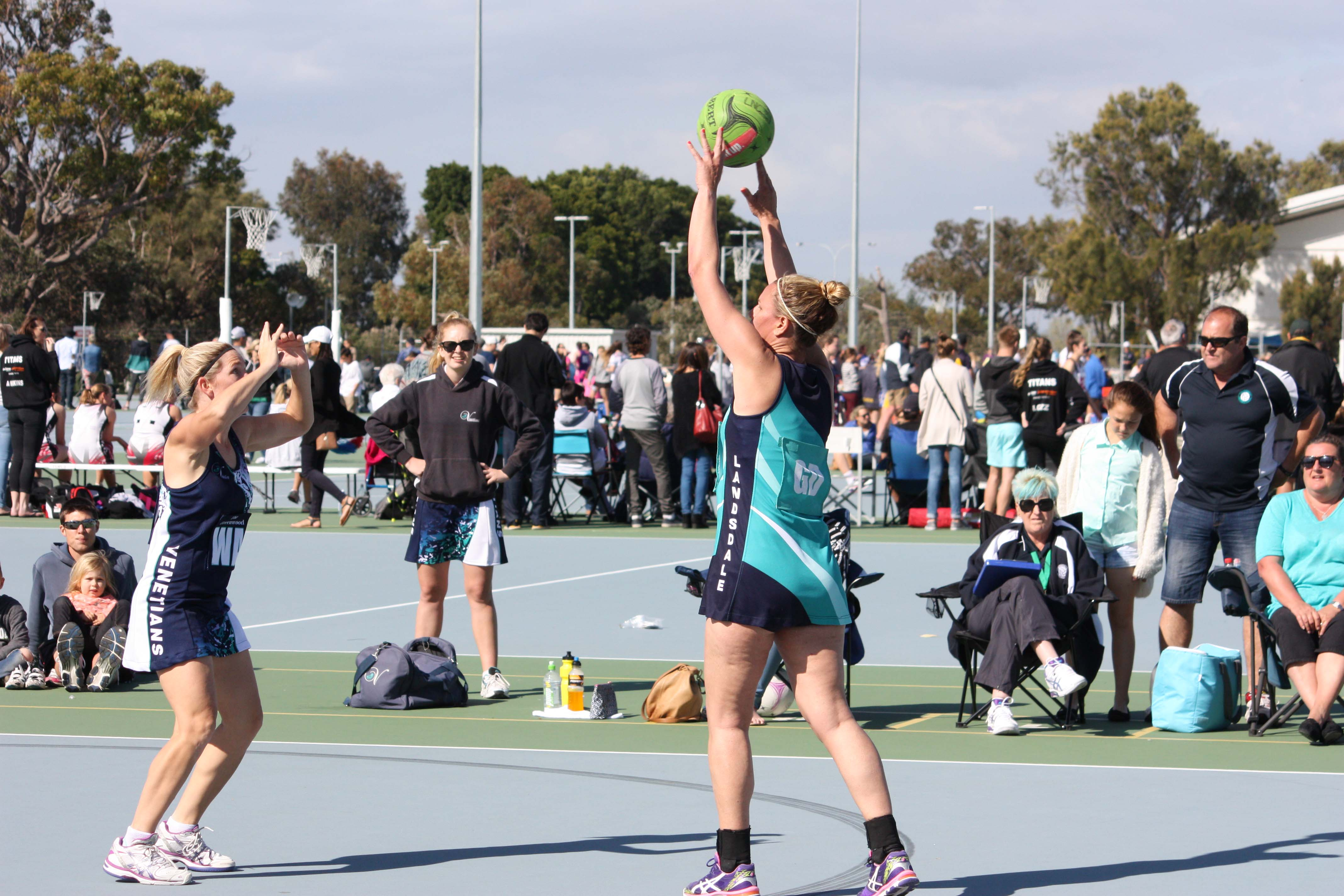 Landsdale Netball Club Open Players11