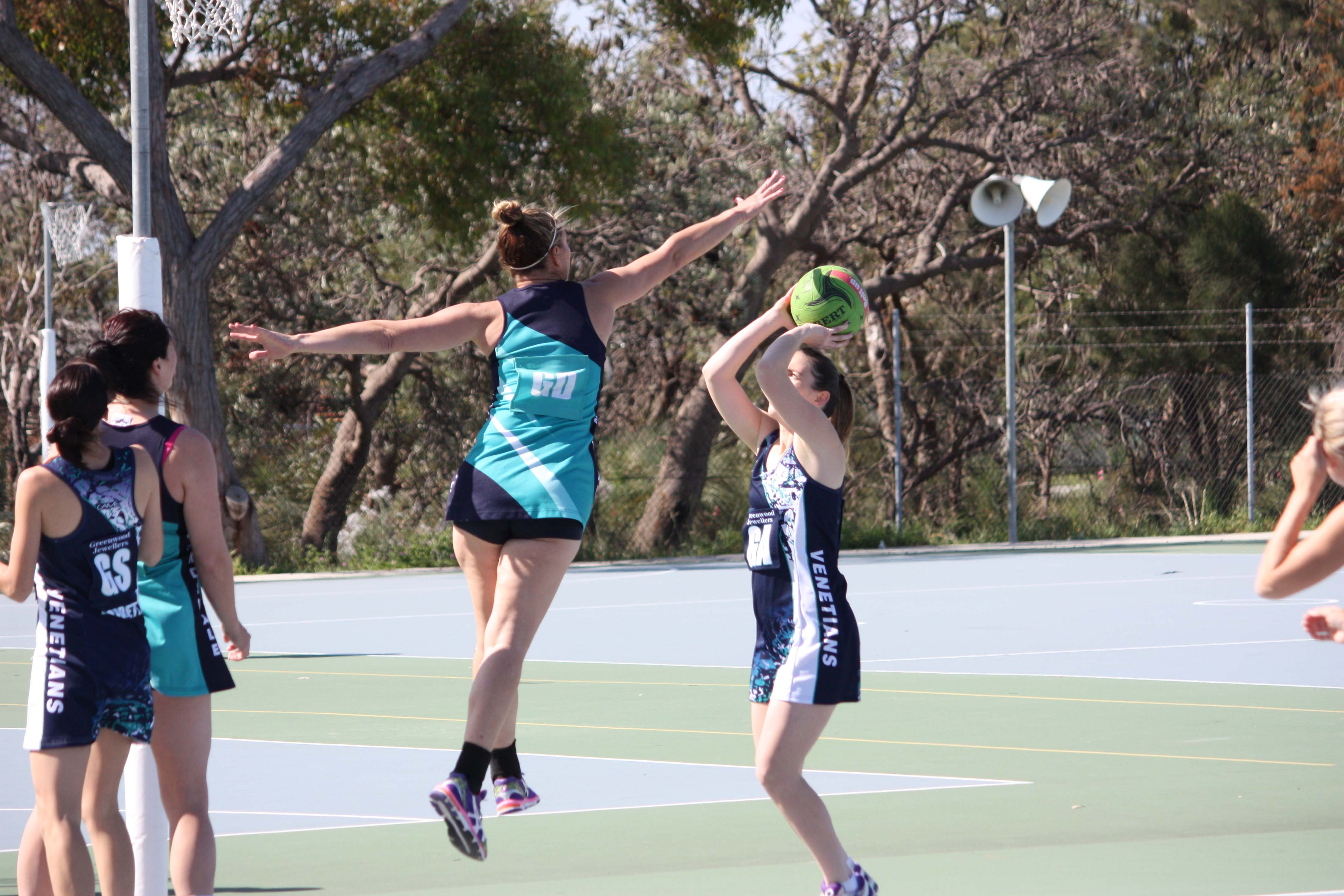 Landsdale Netball Club Open Players12