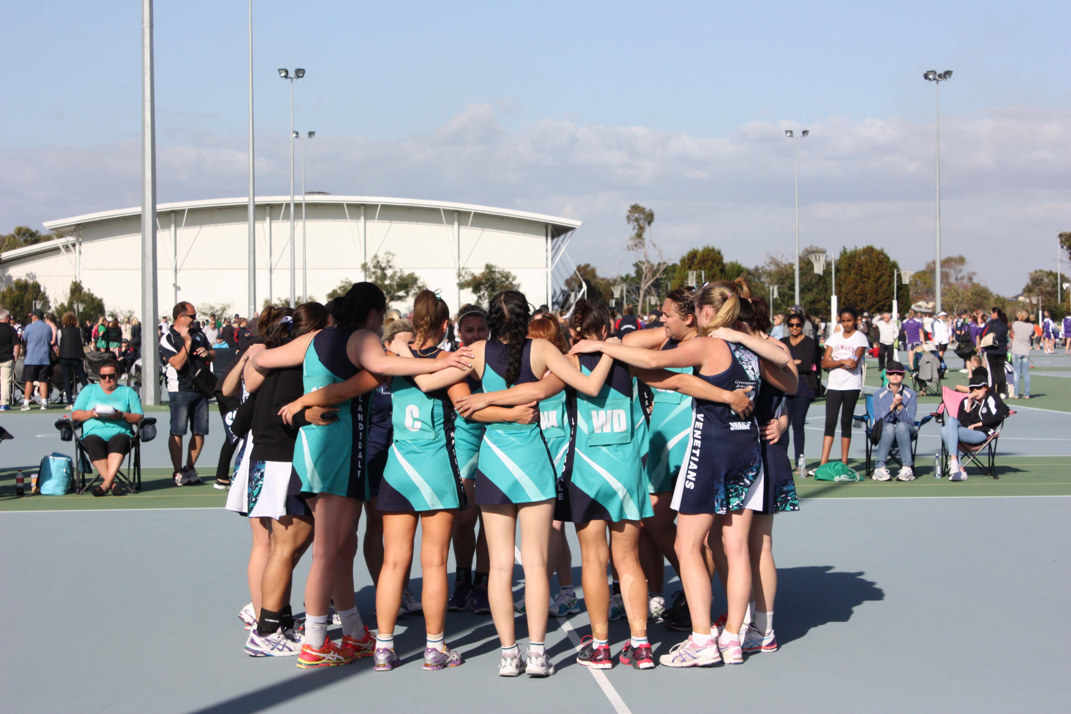 Landsdale Netball Club Open Players2