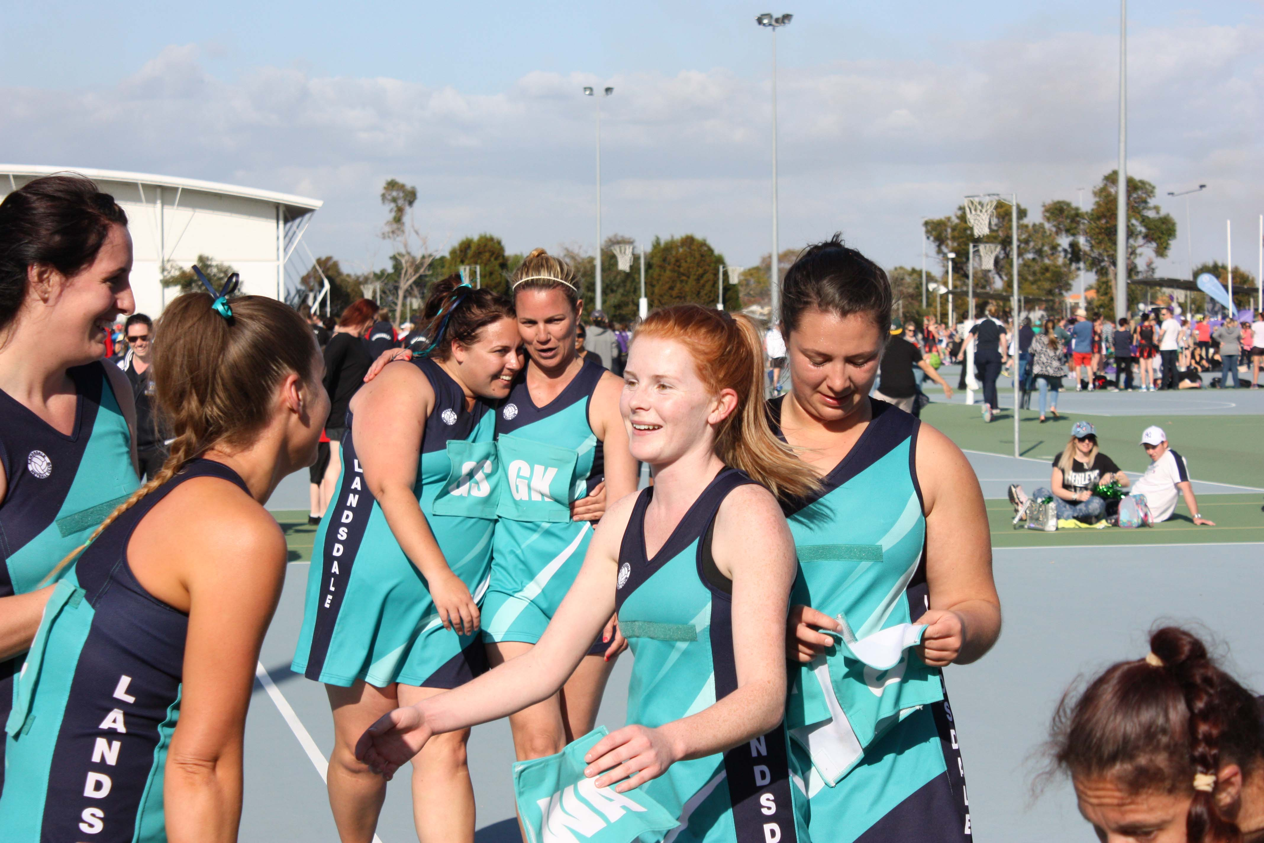 Landsdale Netball Club Open Players3