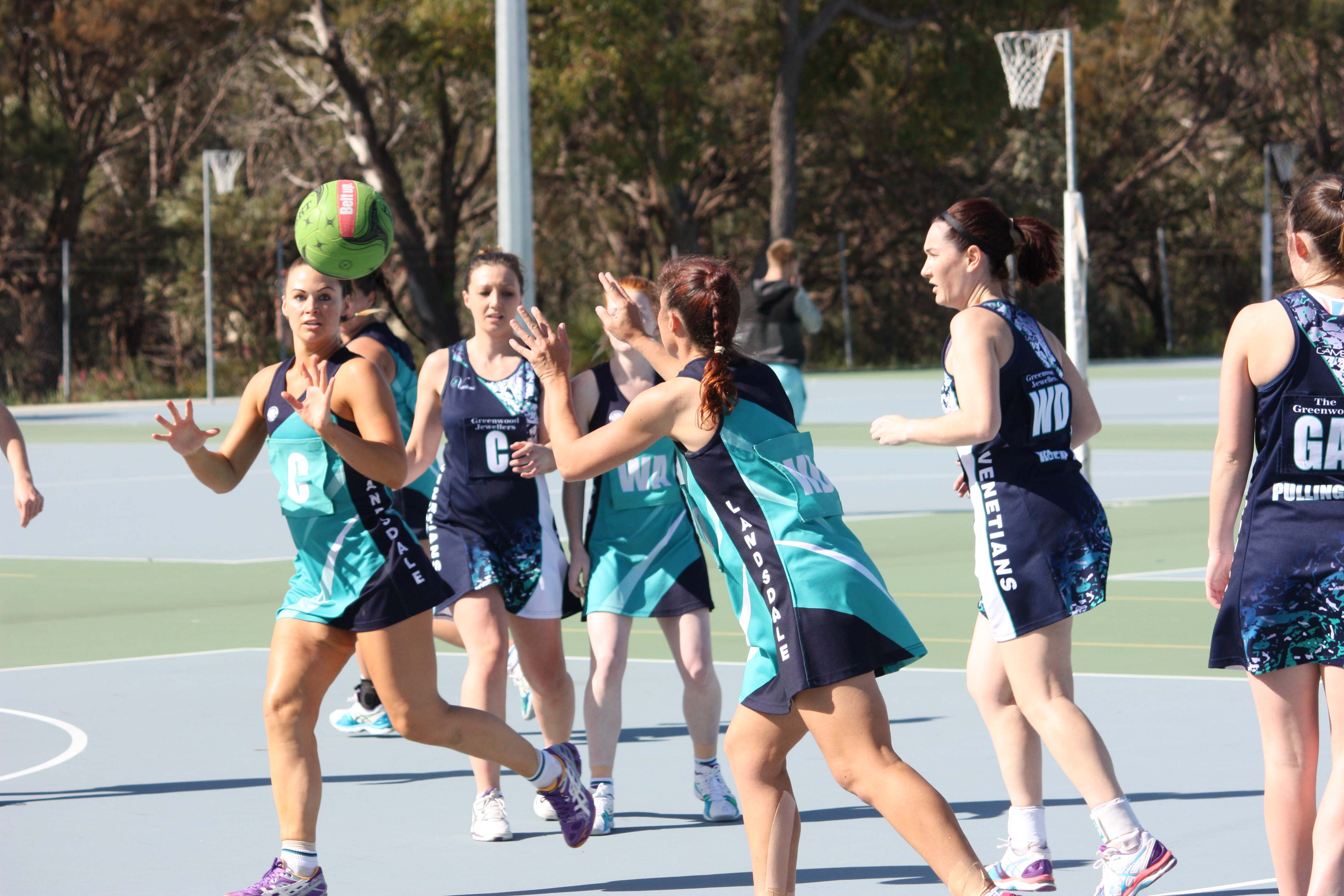 Landsdale Netball Club Open Players9